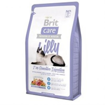 Brit Care Lilly Sensitive Kuzu ve Somonlu Tahılsız Kedi Maması 2 kg