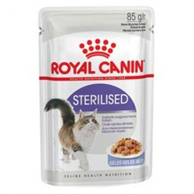 Royal Canin Sterilised Jelly Pouch Kedi Maması 85 Gr